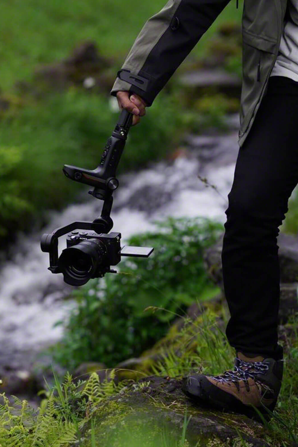Movie making with gimbal