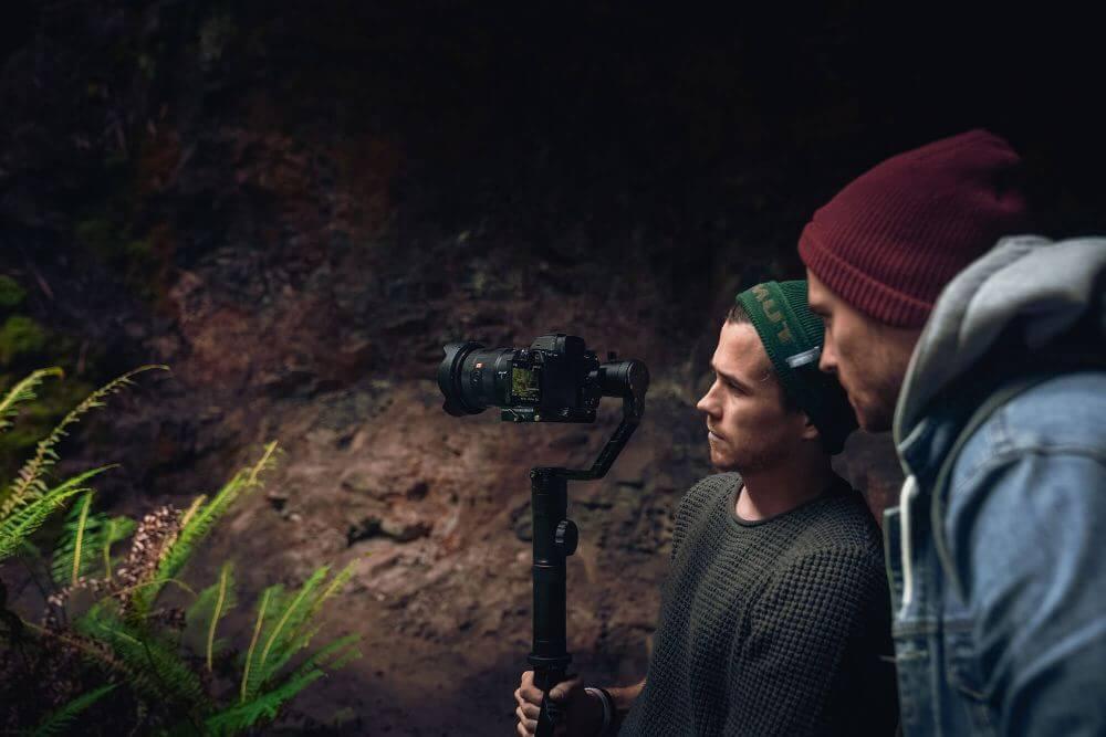 Benn TK Behind the scenes photo