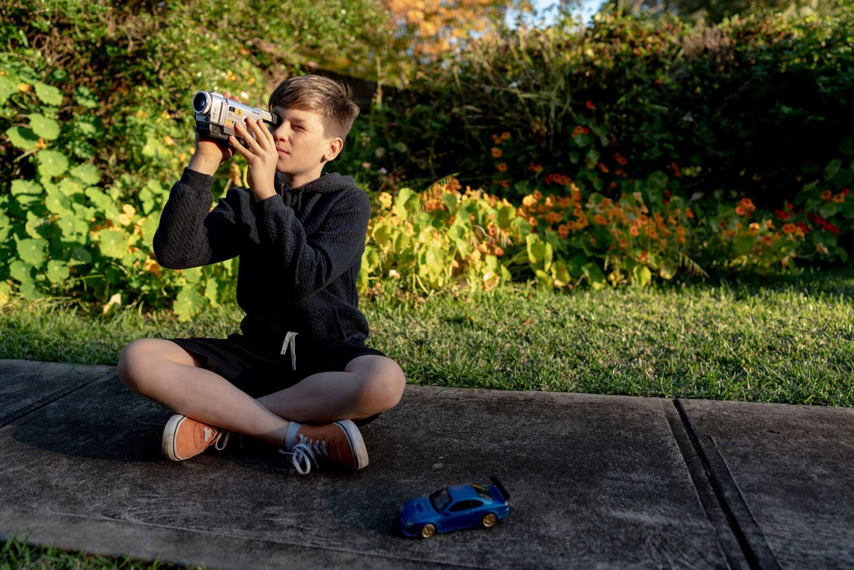 Redscope Behind the scenes photo