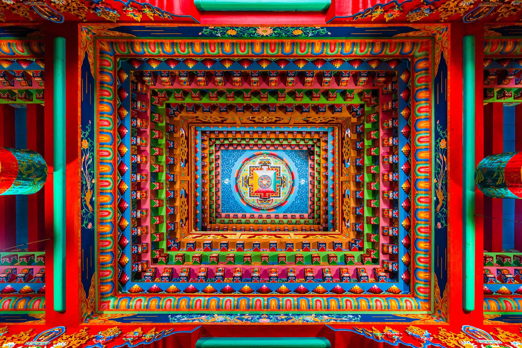 Photo of colourful architecture by Luke Tscharke