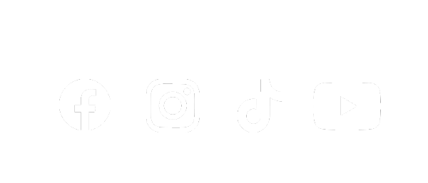 Social Media Icons | Facebook, Instagram, TikTok, YouTube
