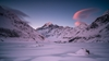 Frozen Mount Cook